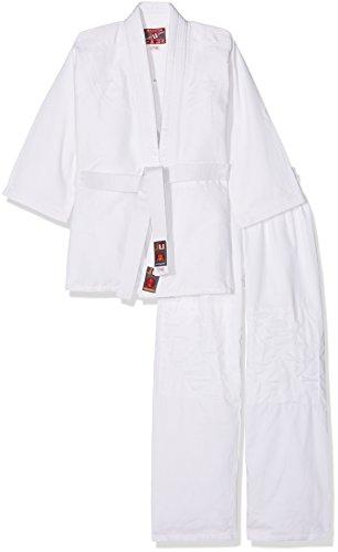 Ju-Sports Kinder Judoanzug To Start Anzug, Weiß, 140 cm