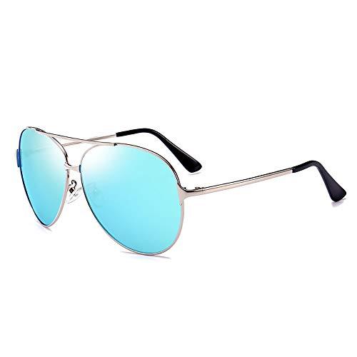 ZUEN Mirror Metal Polarized Driving Sonnenbrille Men ' S Fashion Sonnenbrillen,C