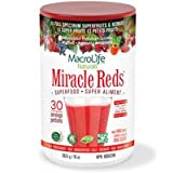 Macrolife Naturals Miracle Reds Antioxidant Superfood Supplement 285 g from Miracle Reds