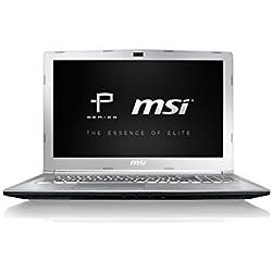"""MSI PE62 7RD-1814XES - Ordenador portátil de 15.6"""" FullHD (Intel Core i7-7700HQ, 16 GB RAM DDR4, 1 TB HDD + 128 GB SSD, GeForce GTX 1050 4 GB GDDR5, Windows 10) Plateado - Teclado QWERTY español"""