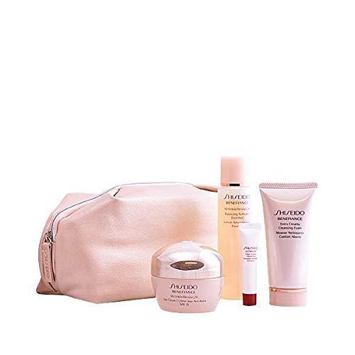 Shiseido Set, Benefiance Wrinkleresist 24, 4tlg. + Kulturbeutel EUR - Shiseido Benefiance Balancing Softener