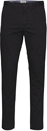Jack & Jones Marco pantaloni Chino Cotone Slim Fit Black W32 / L32