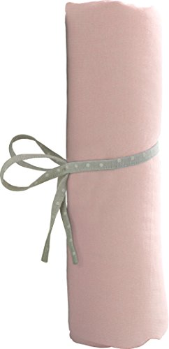 babyCalin Drap Housse Rose 60 x 120 cm