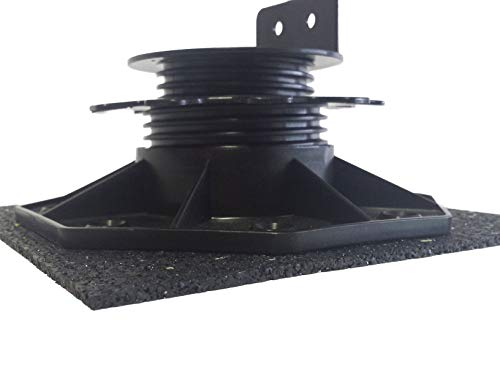 Stelzlager 20 Stück Plattenlager 250x250x3mm Gummiunterlage Terrassenbau Terrassenlager