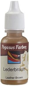 Pegasus 159030 - Pintura acrílica 15ml Botella de Cuero marrón Importado de Alemania