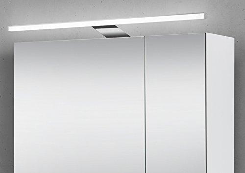 Spiegelschrank Bad 60 cm LED Beleuchtung doppelt verspiegelt - 3
