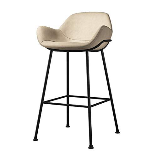 Barhocker Multicolor Breakfast Kitchen Counter Bar Stuhl Fußstütze und Ledersitz Esszimmerstuhl for die Küche |Pub |Café Hochhocker Metallbein max.Laden Sie 200 kg