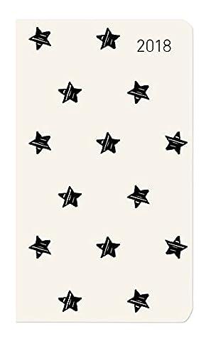 Slimtimer Sterne 2018 - Taschenplaner / Taschenkalender (9 x 16) - Weekly - 128 Seiten