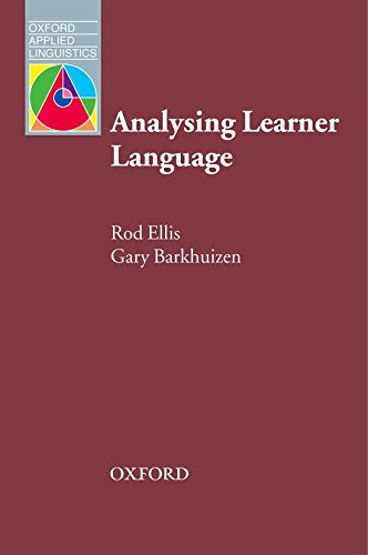 Analysing Learner Language (Oxford Applied Linguistics)