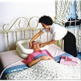 douperltd aufblasbar Shampoo Becken für Schwangere Frau/Die Behinderten Komfortable und bequeme in-bed shamponieren BPA-frei