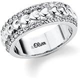 s.Oliver Damen-Ring Silber 925  Gr.54 399852