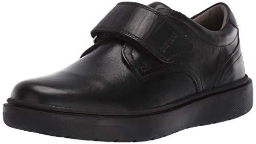 Patent Leder Knöchel Gurt (Geox Jungen J RIDDOCK Boy G Sneaker, Schwarz (Black C9999), 29 EU)