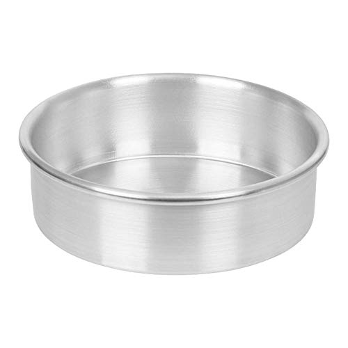 SEIKO Aluminium Baking Round Cake Pan/Mould for Microwave Oven - 6 Inches