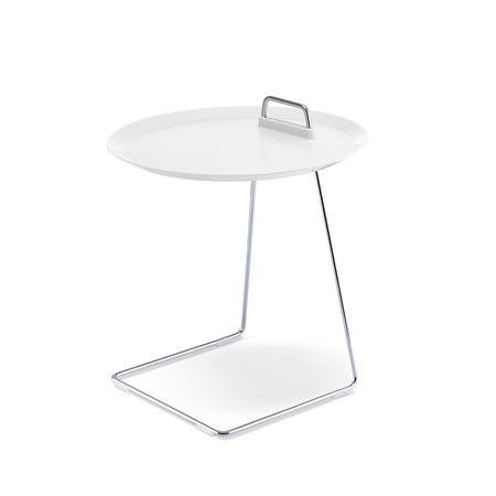 Blick Studio (studio domo - PORTER Tablett-Tisch, weiß)