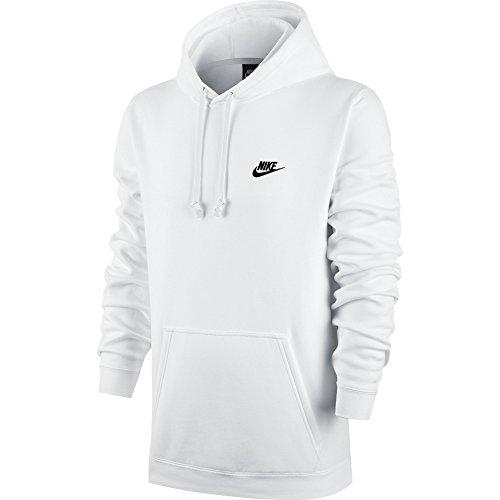 Nike Nike Herren M Nsw Hoodie Po Flc Club Kapuzenpullover, Rot (university red / university red / white), 4XL