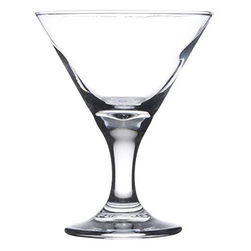 Lot de 6Libbey 3701Embassy 85gram Mini verre à Martini W/Signature Cocktail Picks Libbey Mini