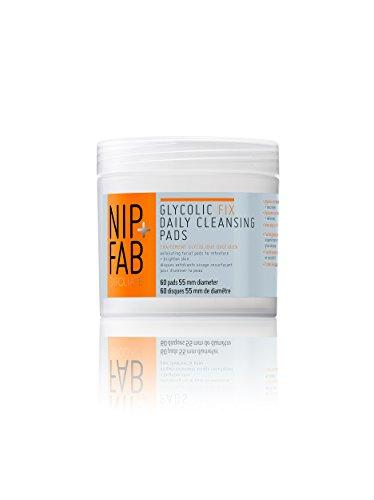 Nip+Fab Glycolic Fix pads, 1er Pack (1 x 80 ml) - Peeling-pads