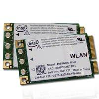 Intel Wireless WiFi Link 4965AGN Mini PCI Express Dell P/N: 0UT121 802.11a/g/n Draft N Intel Wifi Link
