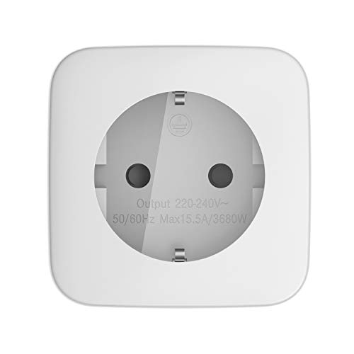 Telekom Smarthome Zwischenstecker innen - Über Magenta Smarthome App fernbedienbar - Funk-Schalt- und Messsteckdose - weiß -