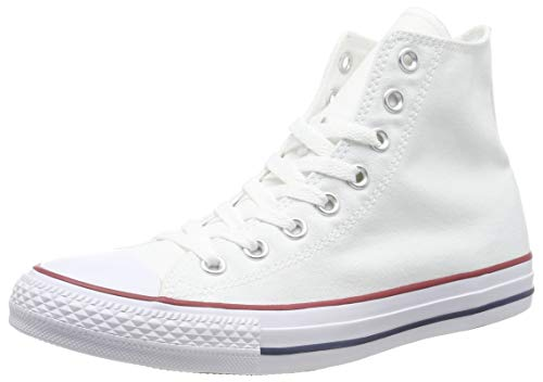 Mens Converse Chuck Taylor All Star High Top Sneakers (Optical White, 4 D(M) US) - 4-tier Tower