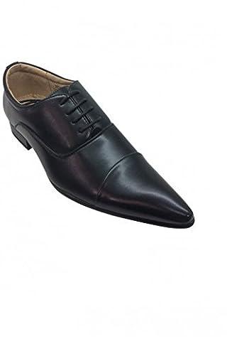 chaussure pointu pour homme noire - Noir - P-44