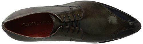 Melvin & HamiltonToni 9 - Scarpe stringate Uomo Grau (Crust Smoke (1, 3, 4, 5), Navy (2), Ls Blk)