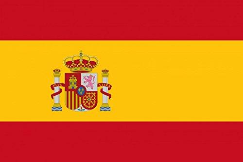 1art1 96729 Spanien - Flaggen Der Welt XXL Poster 120 x 80 cm -