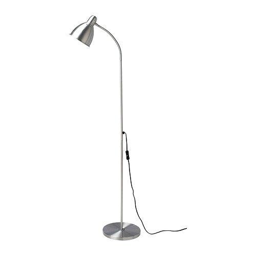 IKEA LERSTA Lámpara de pie/de lectura, aluminio - 001.106.40 - 1 ...