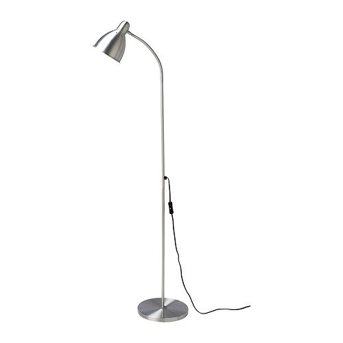 Ikea Lersta Reading/Floor Lamp, Aluminum