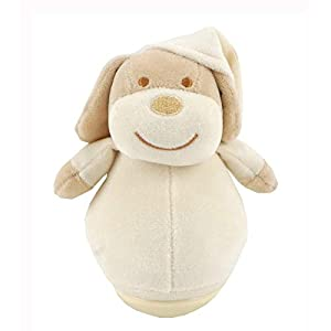 Duffi Baby- Peluche Balanceo Perrito, 100% Poliéster, Color Natural (Master Baby Home, S.L. 0759-05)