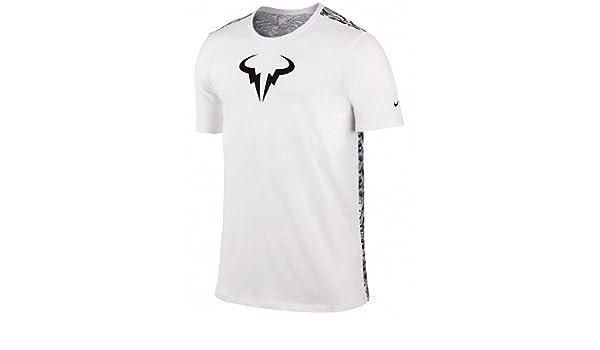 Nike Challenger Premier Rafa T shirt Black Maglietta Rafa
