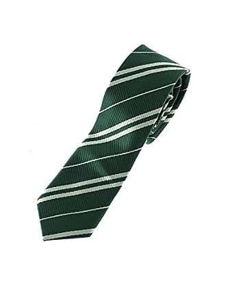 Zac's Alter Ego®, cravatta per costume da mago, uniforme scolastica ed eventi verde Emerald Green taglia unica