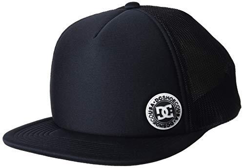 DC Shoes Balderson Gorra de béisbol, Hombre, Negro (Black Kvj0), One Size (Tamaño del Fabricante:1SZ)