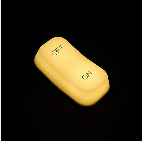 Induktions-EIN/AUS-Schalter Licht Zwei-Gang-Licht einstellbar Nachttisch Nachtlicht190 × 62 × 96 (mm) -