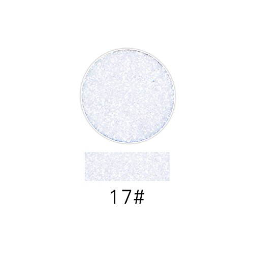 Flüssiger Lidschatten Professioneller SOMESUN Lash Shining Glitter Highlight Diamant Lippenpuder Lidschatten Gepresst Pulver (#17) (Sleek Kosmetik-highlight)
