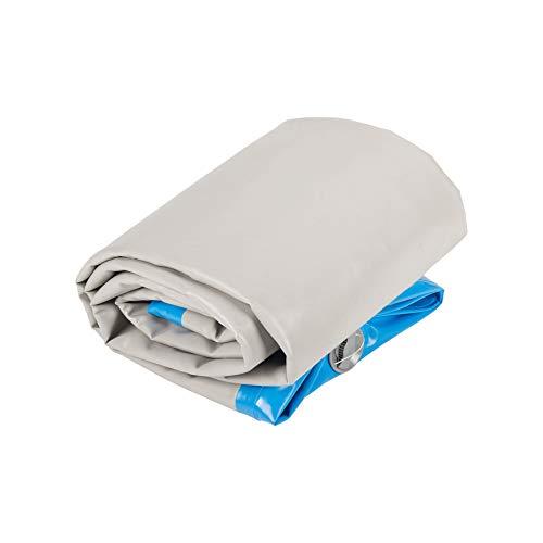 Pinty Air Track Aufblasbare Gymnastik Tumbling Matte Gymnastikmatte Turnmatte Bodenmatte Inflatable Taekwondo Yoga 300x100x10cm (Blau)
