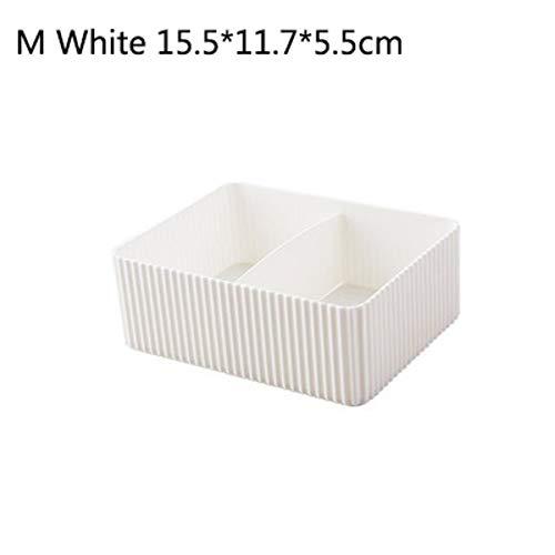 ZUXIANWANG Schmuck Box Aufbewahrungsbox Damen einfachen Desktop weiß Make-up Kosmetik Cabinet Aufbewahrungsbox Box Verbrauchsmaterialien Kosmetik Aufbewahrungsbox Home Office Badezimmer Container