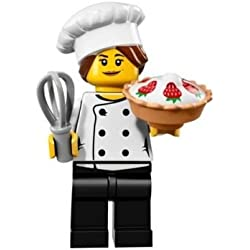 Lego Minifigures Series 17 - #3 GOURMET CHEF Minifigure - (Bagged) 71018