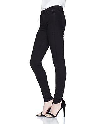 Tom Tailor Denim Women's Nela Black Rinse Skinny Jeans