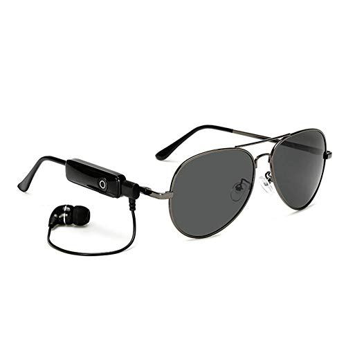 GLASSES Sportfischen polarisierte intelligente Sonnenbrille Bluetooth Stereo-Funkkopfhörer mit Mikrofon-Sprachsteuerung für iPhone Samsung