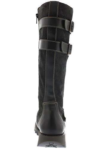 FLY London Sher730fly, Bottes Motardes Femme Daim Diesel/diesel