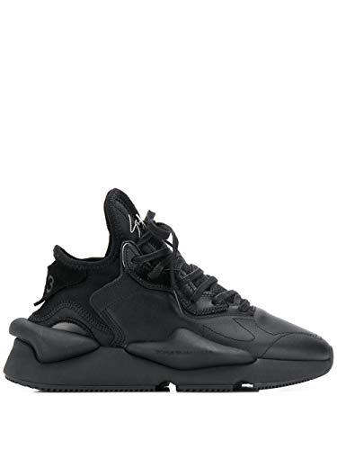 YOHJI YAMAMOTO Luxury Fashion Homme EF2561 Noir Baskets   Automne Hiver 19