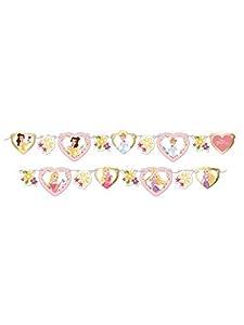 Procos guirnalda de decoración met de papel 2MT True Princess, Multicolor, 5pr88964