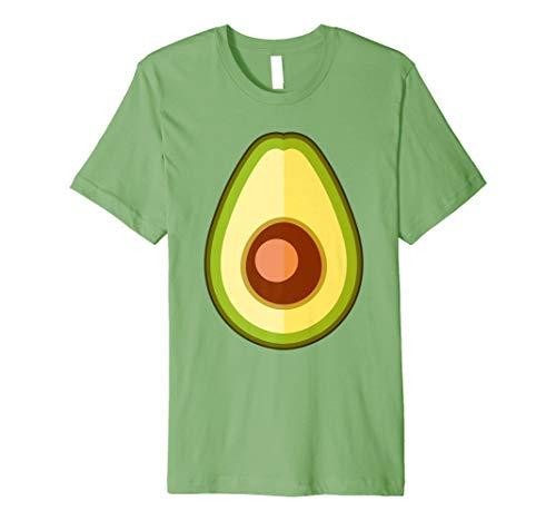 Avocado Kostüm Damen - Avocado Kostüm Lustige Frucht Hemd Mädchen