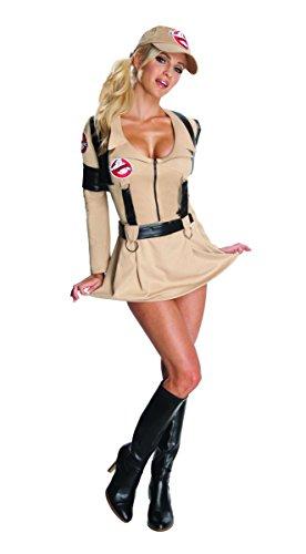 Ghostbusters Kostüm Kleid Sexy Für Erwachsene Damen - Ghostbuster Geisterjägerin Kostüm für Damen, Größe:L