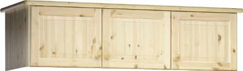 Steens Henrik Pine Topbox for 3 Door Wardrobe, Natural Lacquer Finish