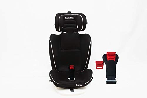 color negro con ribete blanco Silla de beb/é para autom/óvil Mondial Safe Osaka 2 916