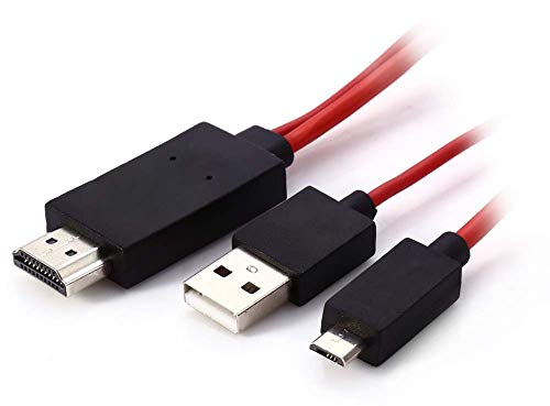 LIMESWOOD High-Speed HDMI to Micro Cable Support Full HD Video and Audio