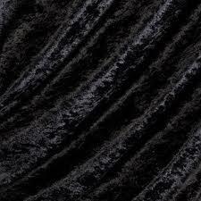falconsupertore Schwarz Crushed Velvet Stoff * * * frei Post * * * schwarz Crushed Samt Velours dehnbar/Stretch Material 150cm Breite Meterware 1Einheit Jet Schwarz Stretch Velvet