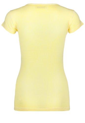 Blaumax Damen T-Shirt Paris SS Vanille ...